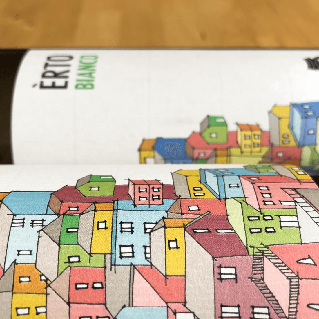 Èrto Wine Label